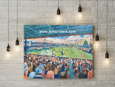 kenilworth road  canvas a3 size